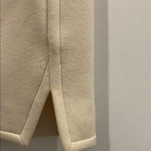 J. Crew Skirts - Jcrew cream wool mini skirt